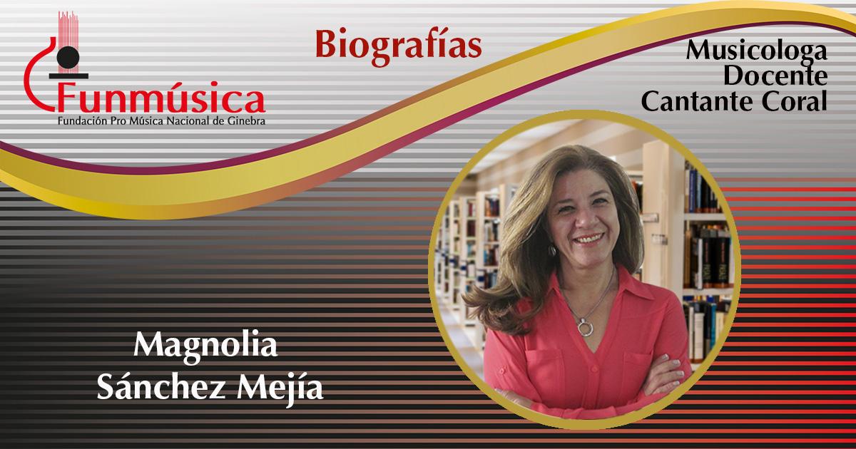 Magnolia Sánchez Mejía
