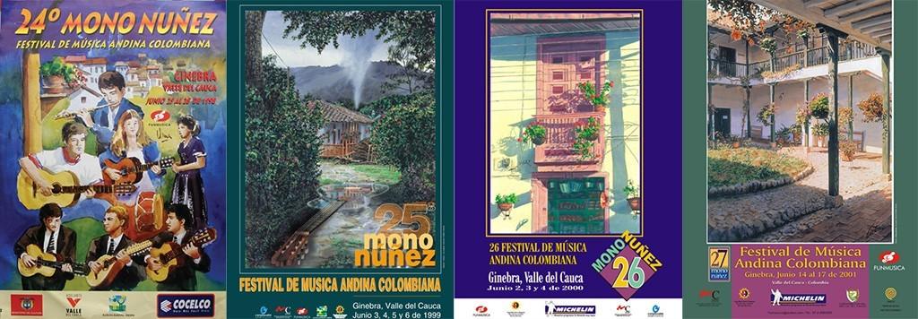 Afiches Mono Núñz 01
